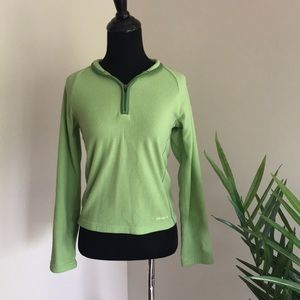 Patagonia Light Green Synchilla Sweater Zip
